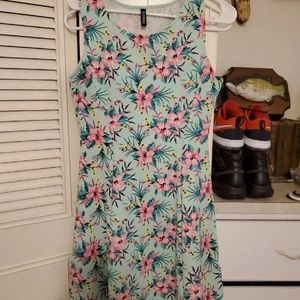 Divided By H&M Tropical Stretch Sundress